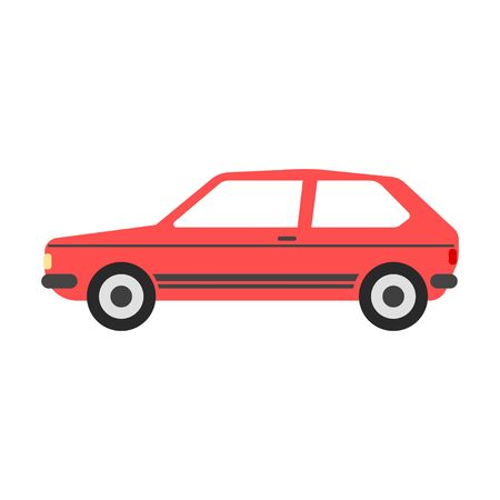 Car vector illustration. Flat design