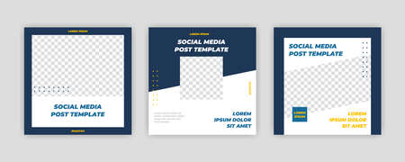 Modern Social Media banner template can be edited. Anyone can use this design easily. Promotional web banners for social media. Elegant sale and discount promo - Vector.