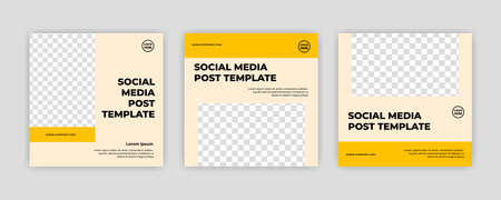 Modern Social Media banner template can be edited. Anyone can use this design easily. Promotional web banners for social media. Elegant sale and discount promo - Vector. Banco de Imagens - 153516136