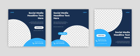 Unique Modern Editable Social Media banner template. Anyone can use this Easy Design Promotion web banner for social media. Modern elegant sales and discount promotions - Vector. Banco de Imagens - 154070372