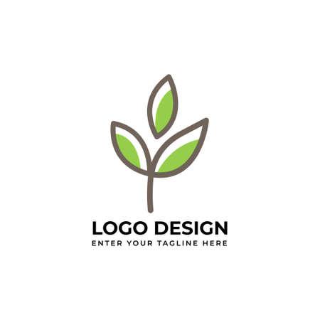 leaf  nature vector art for business Banco de Imagens - 154493814
