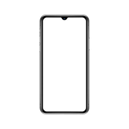 Smartphone mockup vector illustration