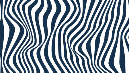 Abstract zig zag lines wave background vector