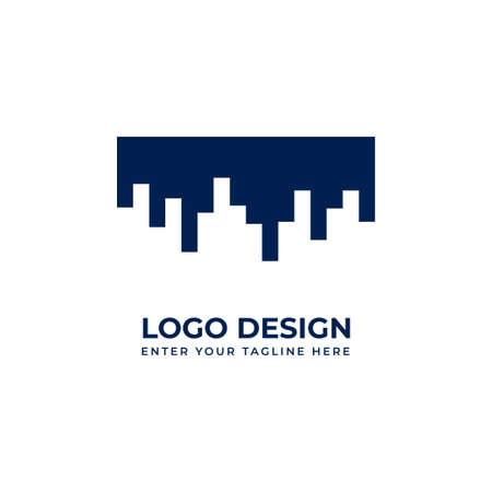 Building logo company. Logo vector for your business
