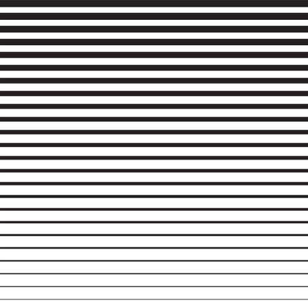 Horizontal line vector on a white background