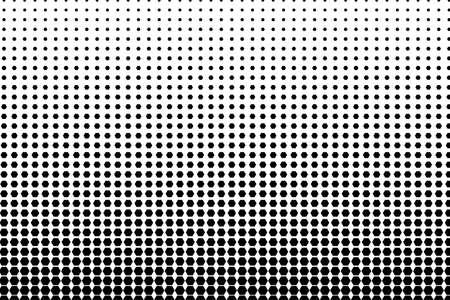 Halftone pattern design. Vector Illustration Ilustração