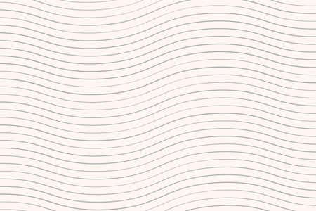 Wave pattern background with line. Vector Illustration