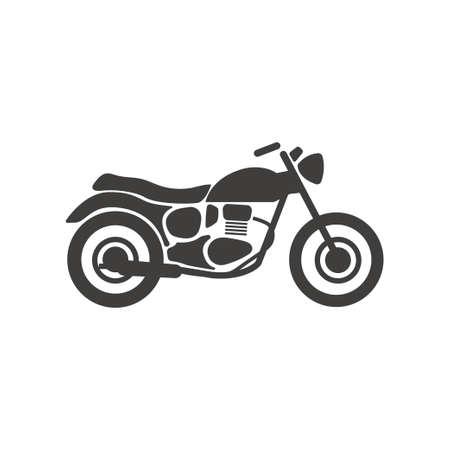 Motorcycle icon, Motorbike icon. Vector Illustration Ilustração
