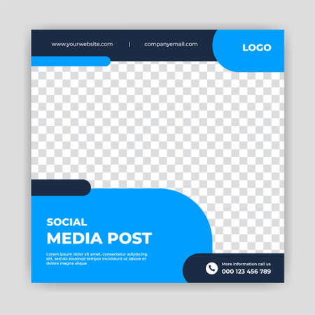 Unique Modern Editable Social Media banner template. Anyone can use this Easy Design Promotion web banner for social media. Modern elegant sales and discount promotions - Vector.