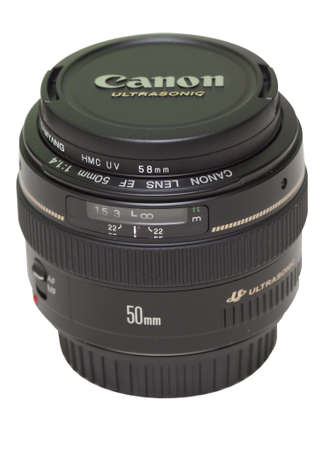 Canon ef fifty mm lens Editorial