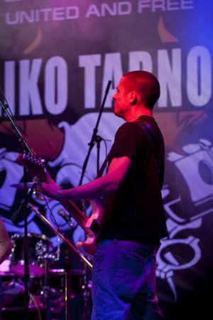 veliko: VELIKO TARNOVO, BULGARIA - JUNE 2: Metallica tribute band performs a show at Motorock festival Veliko Tarnovo 2012, on June 2, 2012 in Veliko Tarnovo, Bulgaria. Editorial