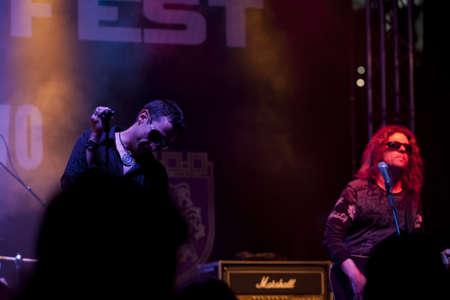 veliko: VELIKO TARNOVO, BULGARIA - JUNE 2: Ostava band performs a show at Motorock festival Veliko Tarnovo 2012, on June 2, 2012 in Veliko Tarnovo, Bulgaria.