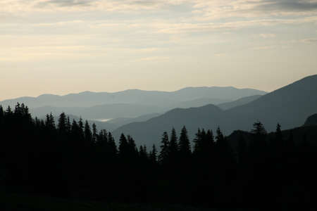 Mountain, Carpathian landscape photo