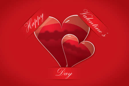 Happy valentine s day card Stock Vector - 17273951