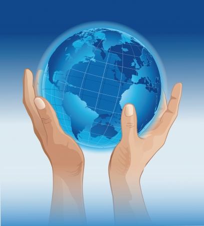 mundo manos: Manos a todo el mundo
