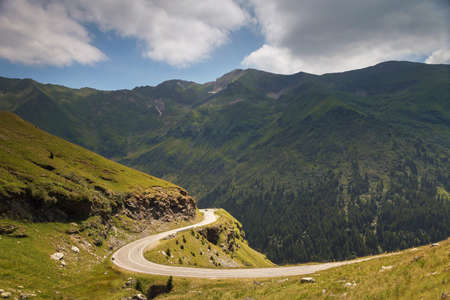 Mountain road / Transfagarasan road in summer