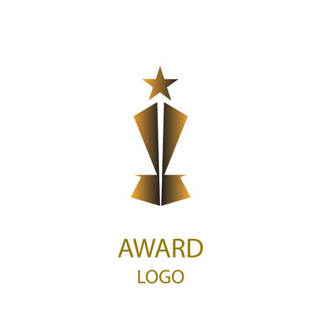 sheild: Golden award logo design