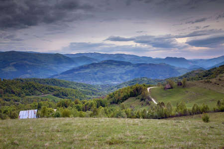 Beautiful landscape in Apuseni, Romania