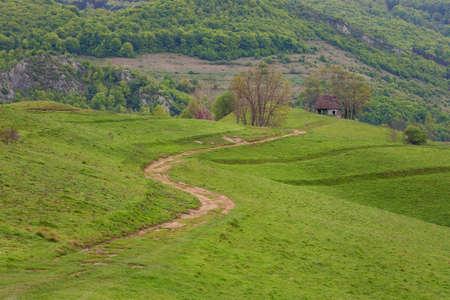 Beautiful landscape in Apuseni, Romania