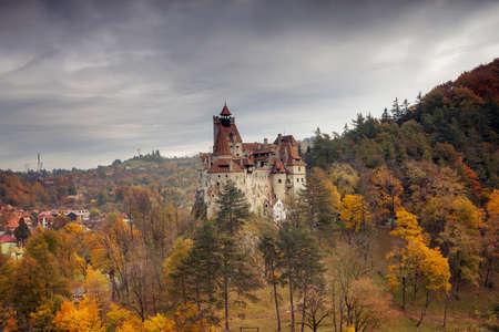 트란실바니아의 아름다운 가을 풍경 스톡 콘텐츠