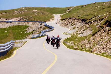 Transalpina mountain road 版權商用圖片