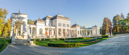 eclectic: Casino Culture and Arts Center in the Cluj NApoca Central Park in the Transylvania region of Romania built bin a eclectic wiener style in the 19 th century