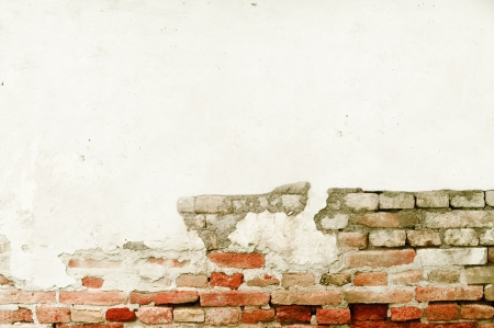 Grunge brick wall with space for text  photo