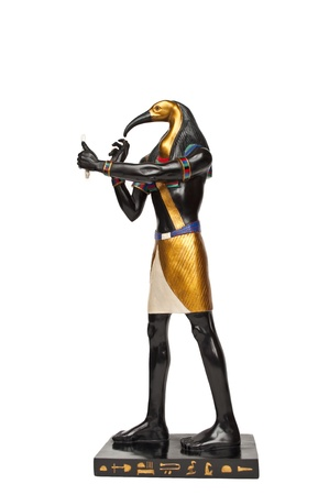 god figure: Egyptian god figure - Ibis