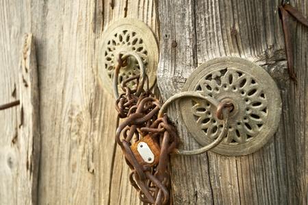 Rusty padlock  Stock Photo - 10834753