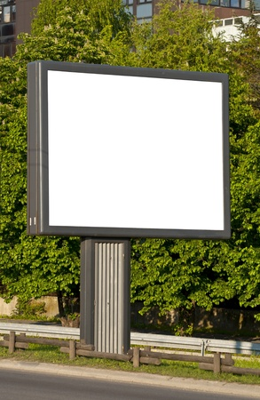 Billboard in the street  photo