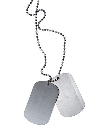 Military ID tags Stock Photo - 10834579