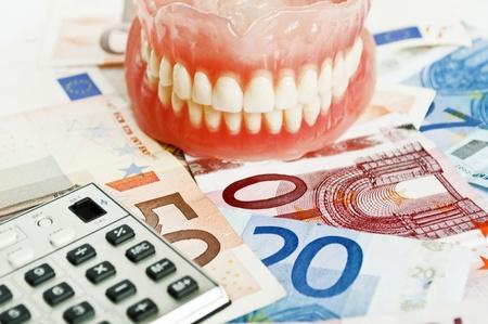 precautions: Dental insurance - concept  Stock Photo