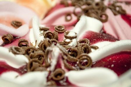 Ice cream macro shot Stock Photo - 10808445