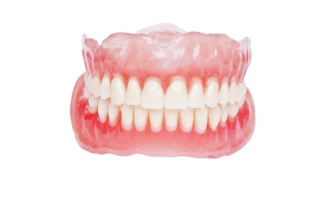Denture close up  photo