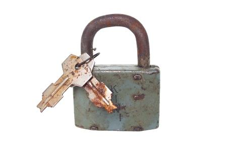 Rusty padlock Stock Photo - 10954806
