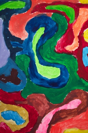 artworks: Original colorful painting background