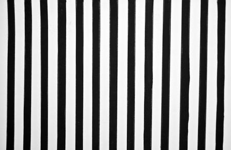 Black and white stripes photo
