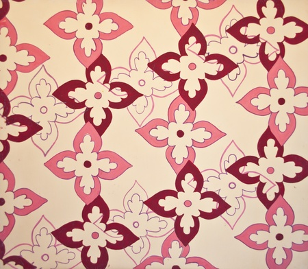Seamless floral pattern background  photo