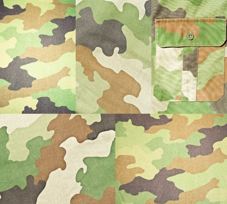 Collection of army and military backgrounds and textures  photo