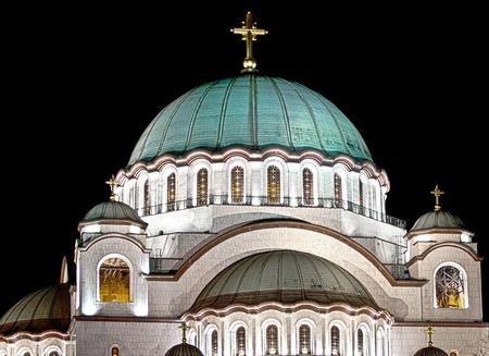 serb: Saint Sava temple in Belgrade