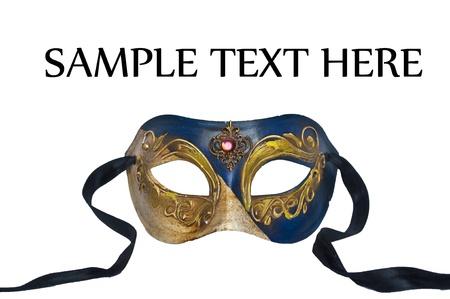 femme masqu�e: Masque de Venise Banque d'images