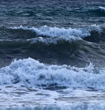 Waves background photo