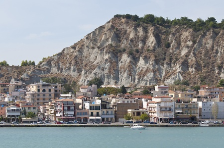 Panoramic view of port and town Zakynthos - Greece  photo
