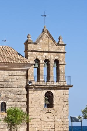 Traditional church at Bochali area of Zakynthos island in Greece  photo