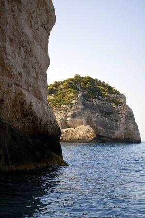 Coast of Zakynthos island - Greece photo
