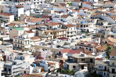 ionio: Aerial view on Zakynthos island Greece - Zante town