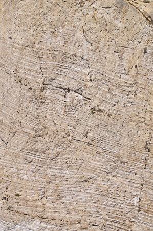 solidify: Striped rock texture - Stone sedimentation  Stock Photo