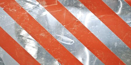 Metal red stripe background  photo