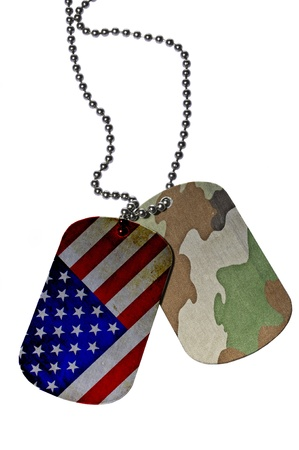 dog tag: United States Army ID tag