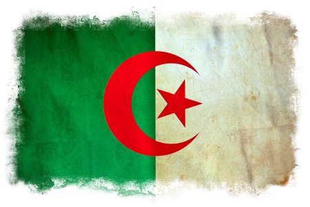 Algeria grunge flag Stock Photo - 12364301